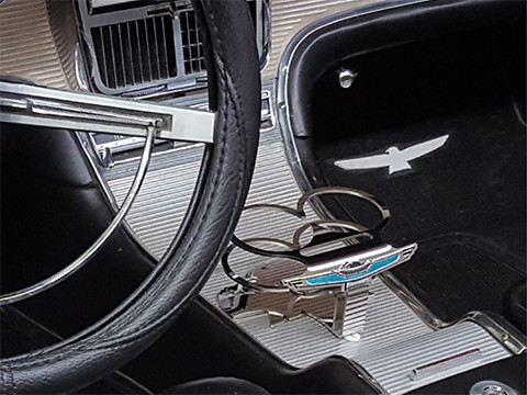 '62 Thunderbird Cup/Phone Holder Mirror Finish – Laser cut, formed and welded